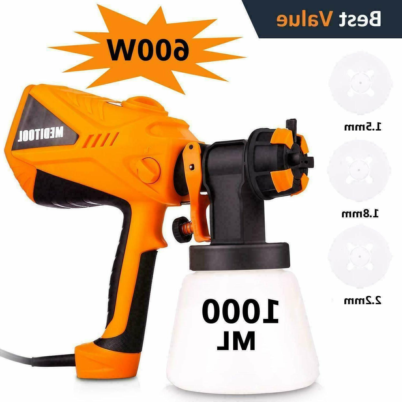 vonhaus electric hvlp paint sprayer gun spray