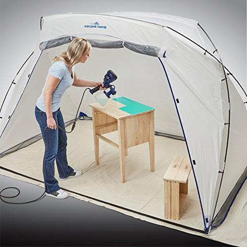 HomeRight Large Spray Shelter C900038 Booth for Hobby Painting Station, Tent