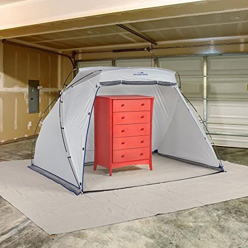 HomeRight C900038 Portable Paint for Spray Hobby Paint Booth Painting Station, Tent