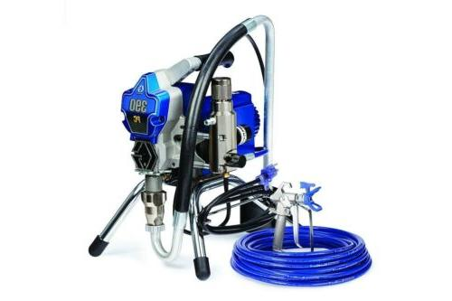 Graco 390 PC Electric Airless Paint Sprayer Stand 17C310 Old