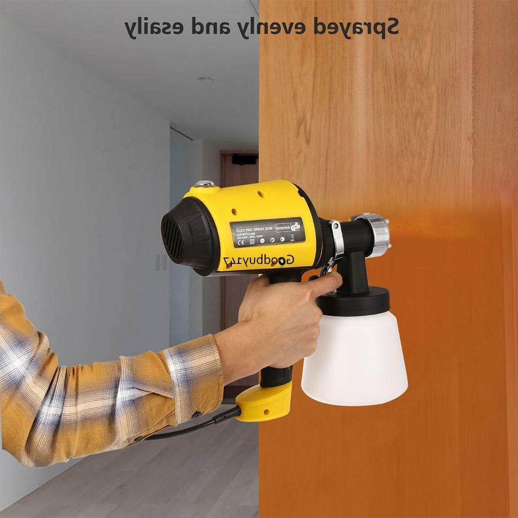 Electric Handheld Wagner Painting Gun Indoor Outdoor House