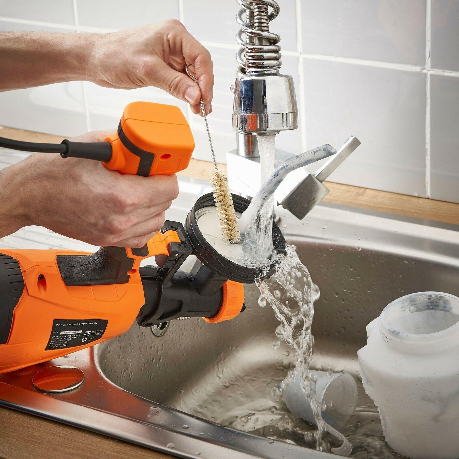 VonHaus Electric Paint Sprayer Spray Pattern & Flow for Home