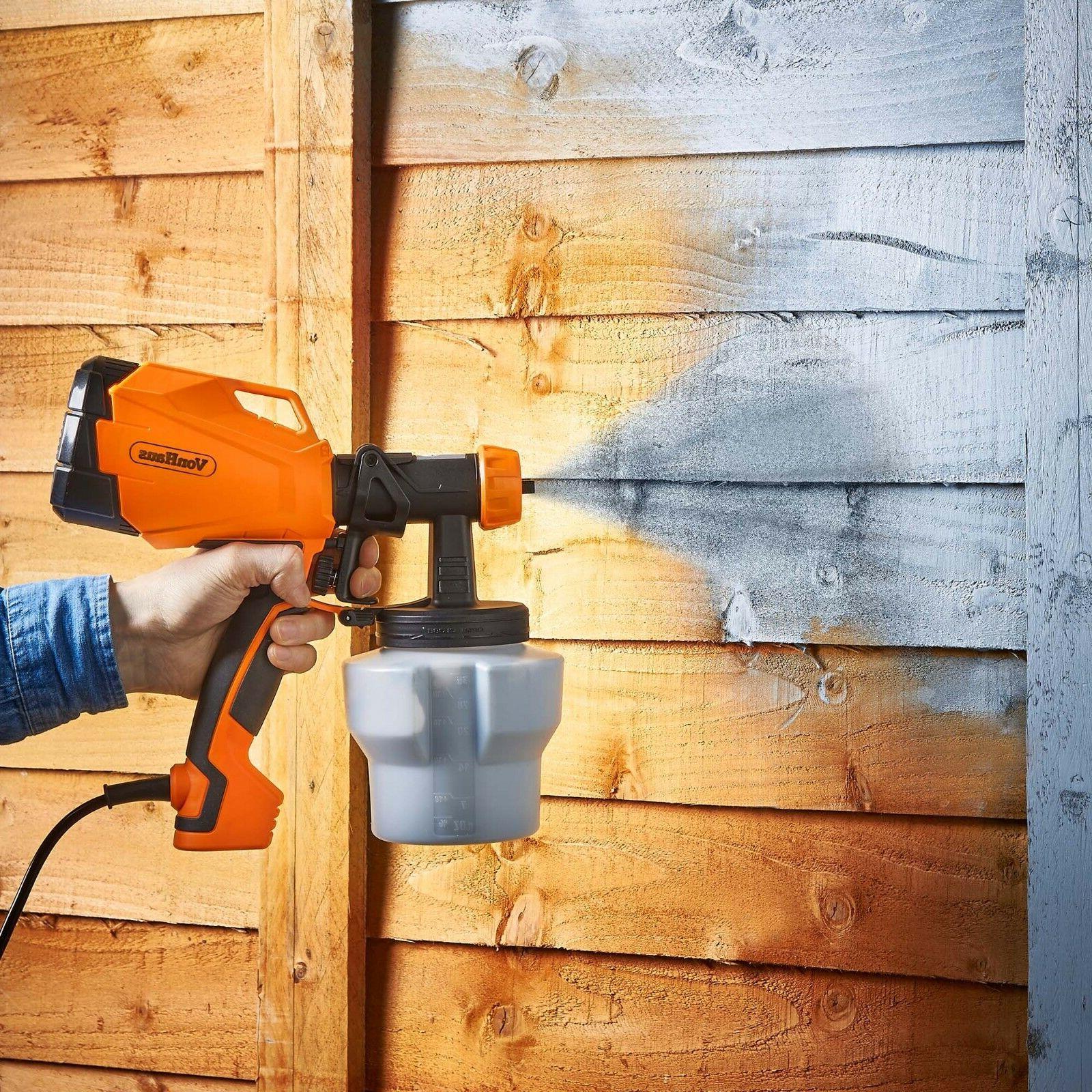 VonHaus Electric HVLP Paint Sprayer Gun Spray & Home