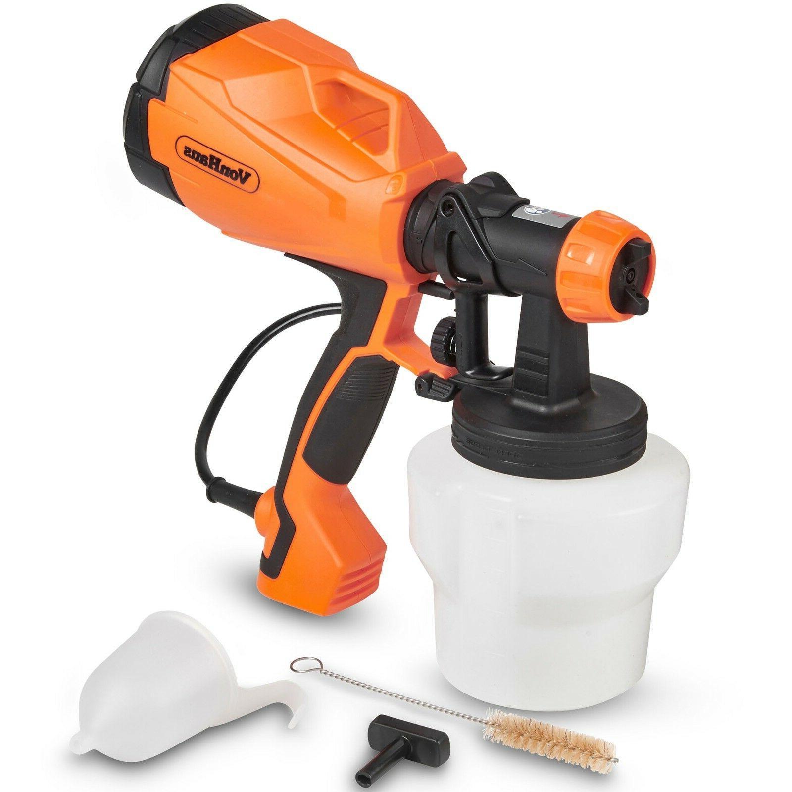 electric hvlp paint sprayer gun spray pattern