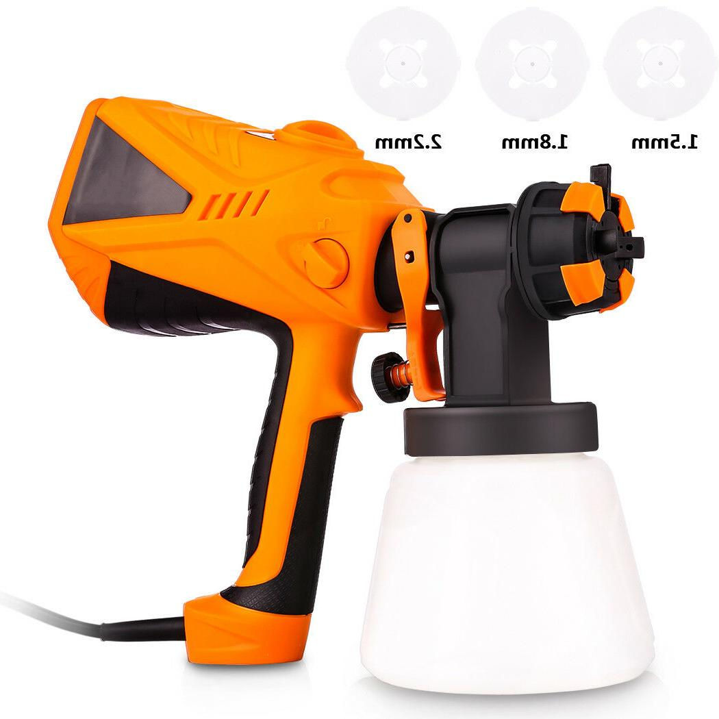 Electric Paint Sprayer Hand Held Spray Gun Painter Painting