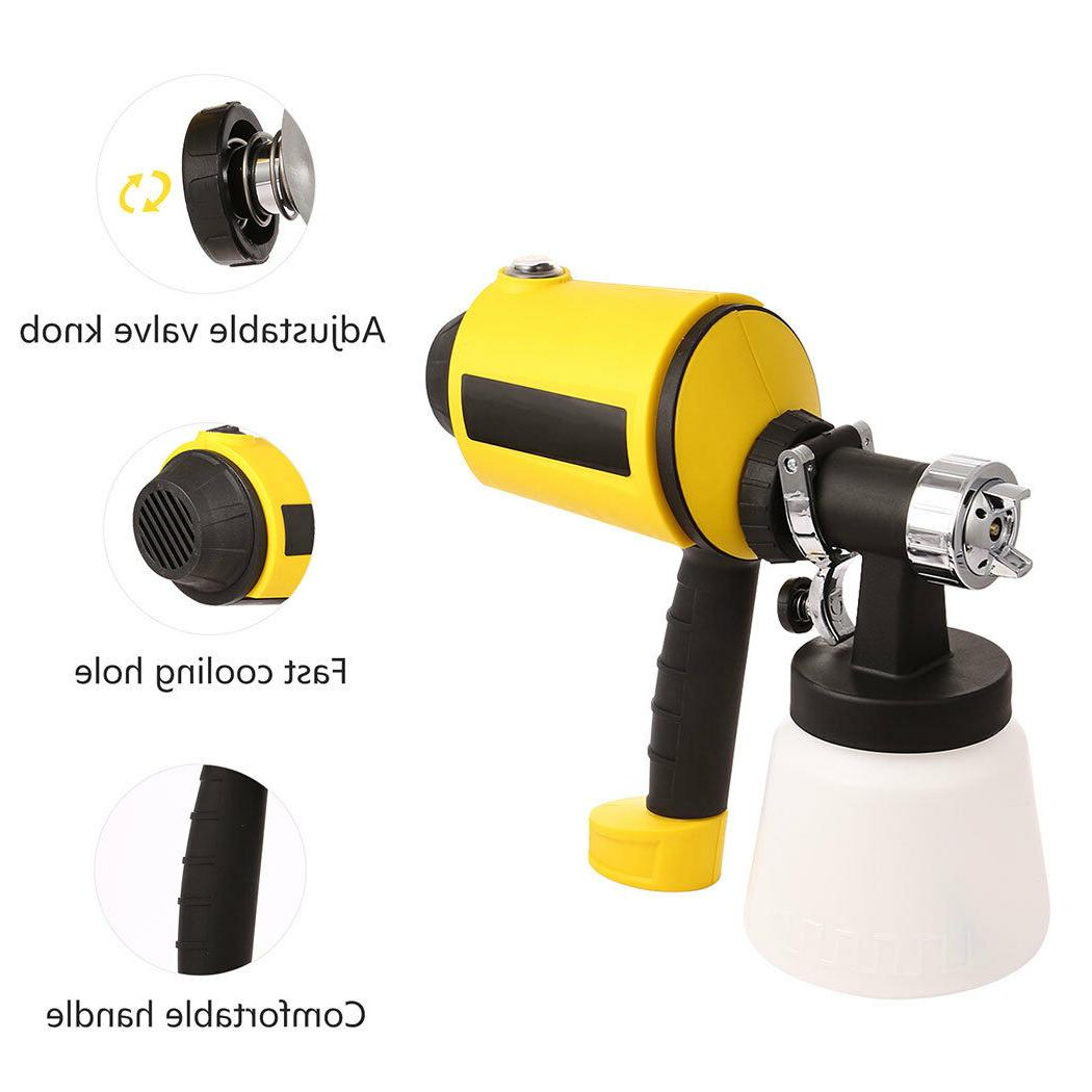 Electric Paint Sprayer Held Spray Gun Painting