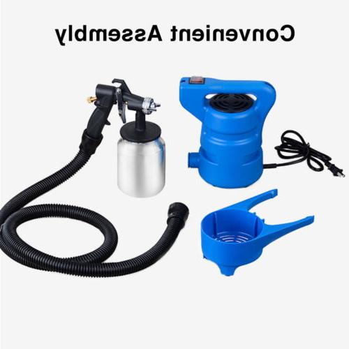 650W Electric Painting Sprayer Gun Nozzle