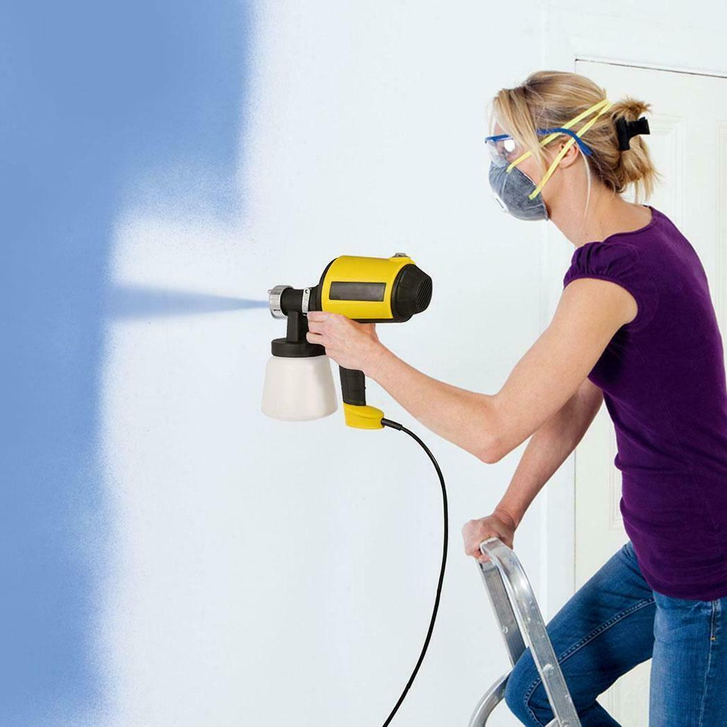 Electric Spray Gun Easy Paint w/Zoom Adjustable For Painting US