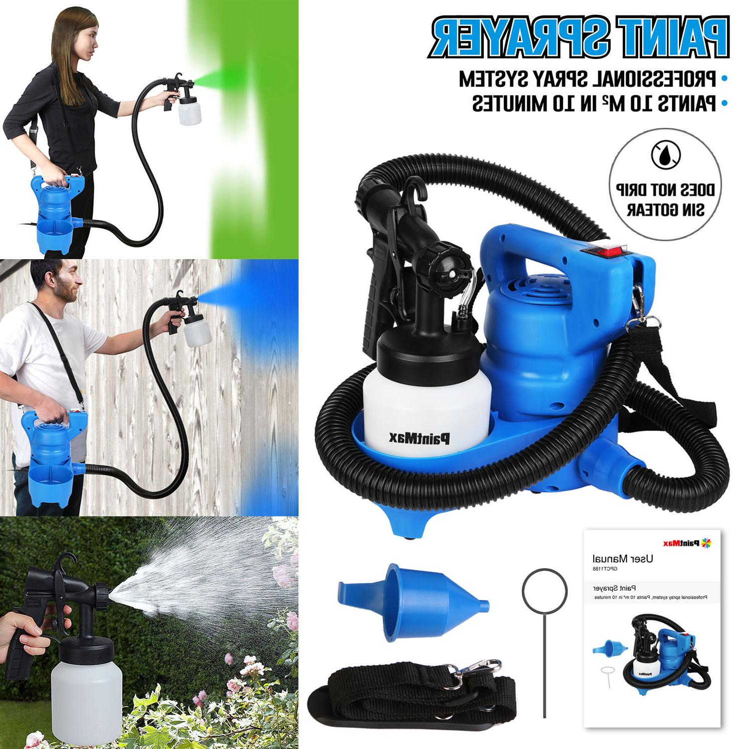 PaintMax Electric Paint Sprayer Gun. 3 Different Spray Patte