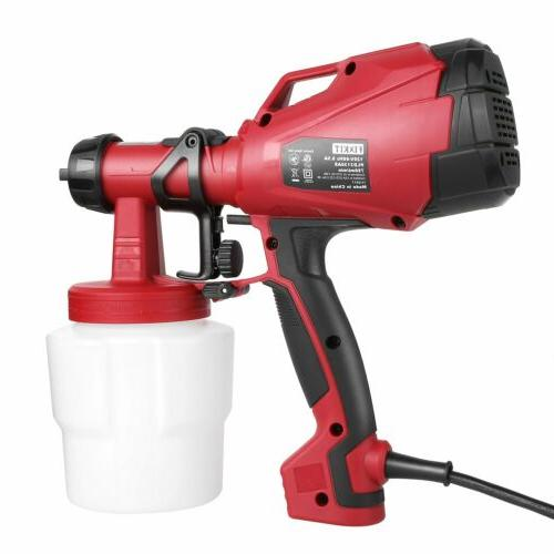 Paint Sprayer Electric Power Painter Gun Painting Tool 1000m