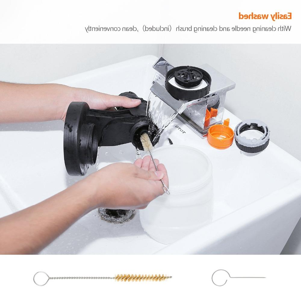 <font><b>Tacklife</b></font> Electric <font><b>Paint</b></font> Compressor With Detachable Container Three Spray Patterns
