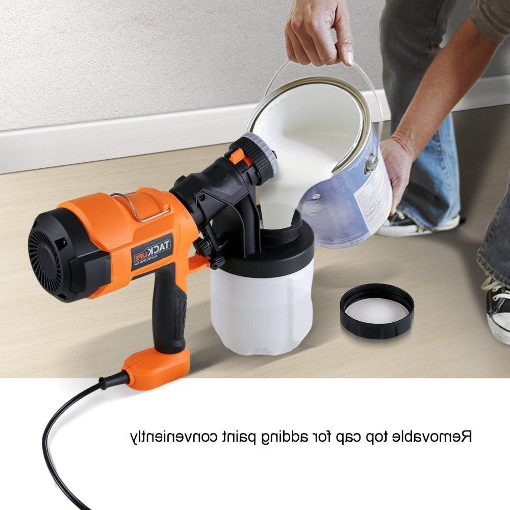 <font><b>Tacklife</b></font> SGP15AC Advanced Electric Spray <font><b>Paint</b></font> <font><b>Sprayer</b></font> Patterns Adjustable Valve Spray Gun