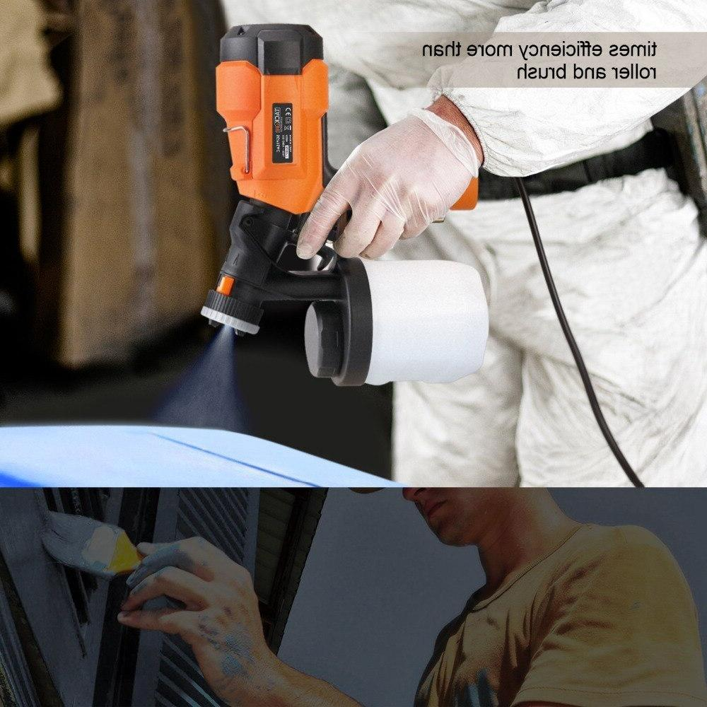 <font><b>Tacklife</b></font> SGP15AC Spray <font><b>Sprayer</b></font> with Spray Patterns Adjustable Valve Spray Gun