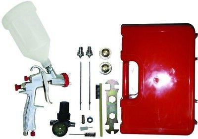 Campbell Hausfeld Gravity Feed Spray Gun Kit Pneumatic Air S