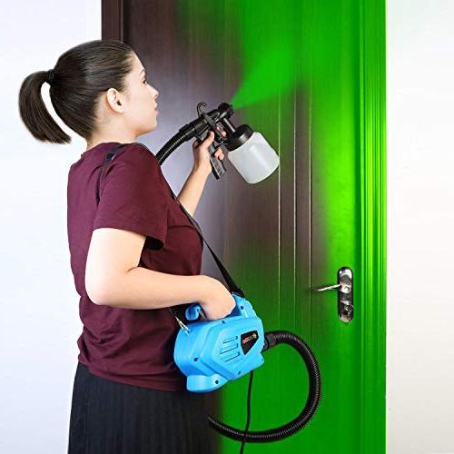 PaintMax Paint Gun. 3 Different System, Detachable Home Deck Precise