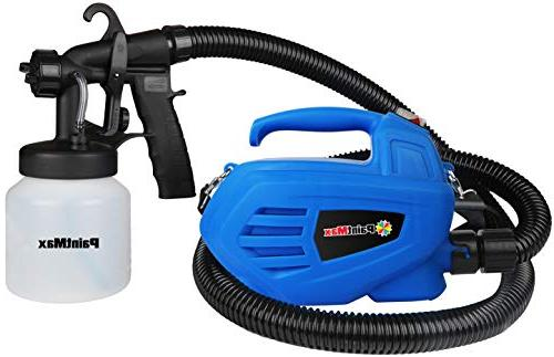 PaintMax Handheld Electric Paint Sprayer Different Spray Patterns, System, Detachable Indoor Home Deck
