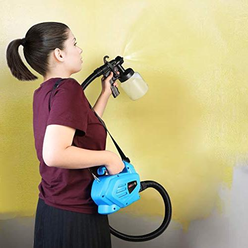 PaintMax 800ml Handheld Paint System, Refill Detachable Outdoor Home Deck Paint