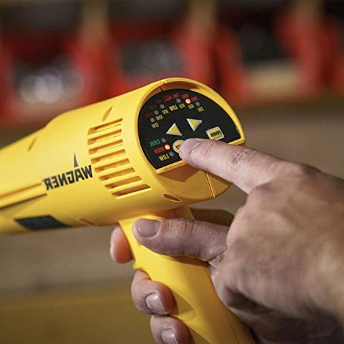 Wagner HT3500 Heat Gun, 12 Temp Settings 250ᵒF-1350ᵒF