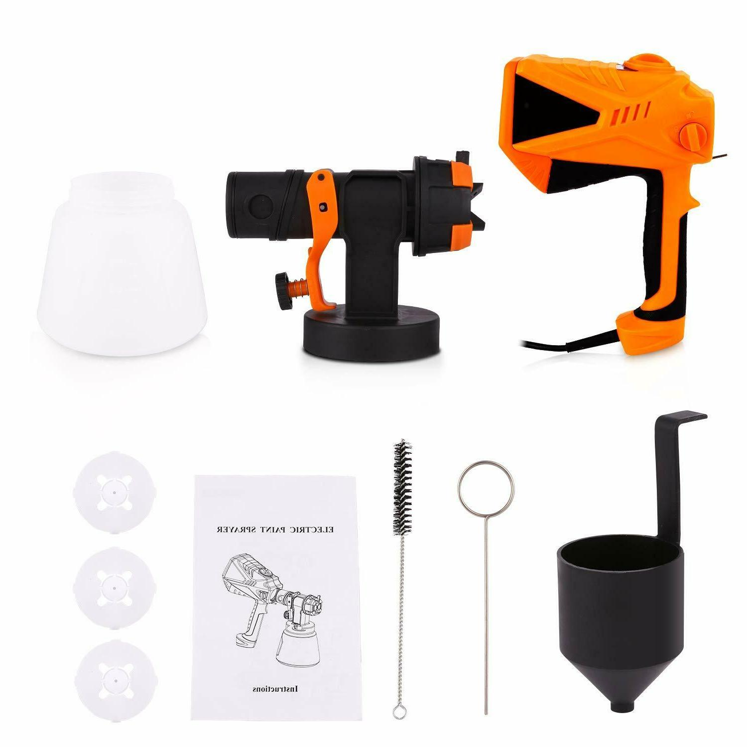 High Paint Home Electric Gun with 3 Spray 3 Nozzle