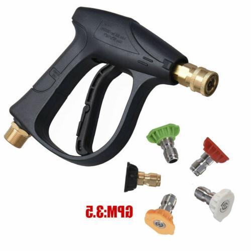 High Pressure Gun Turbo Spray Hose Garden House