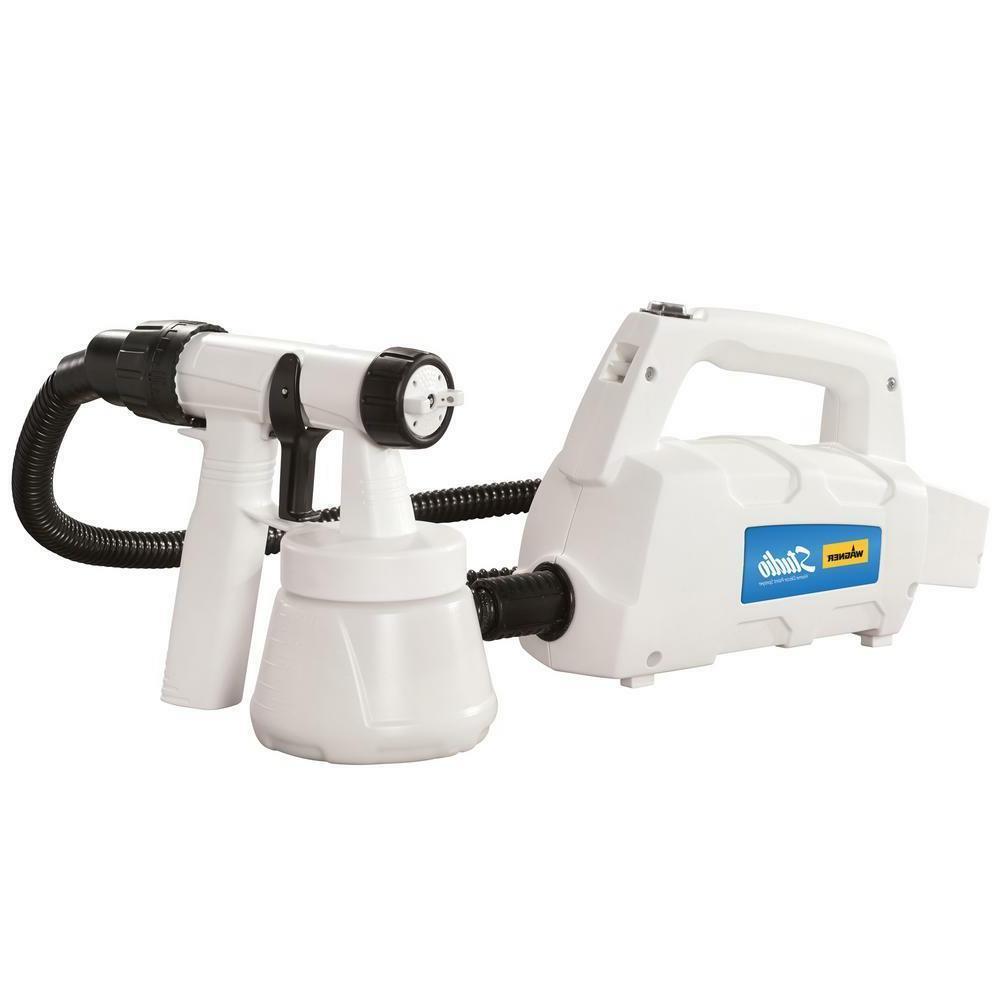 Home Decor HVLP Paint Sprayer Gun and Spray Tent Combo Light