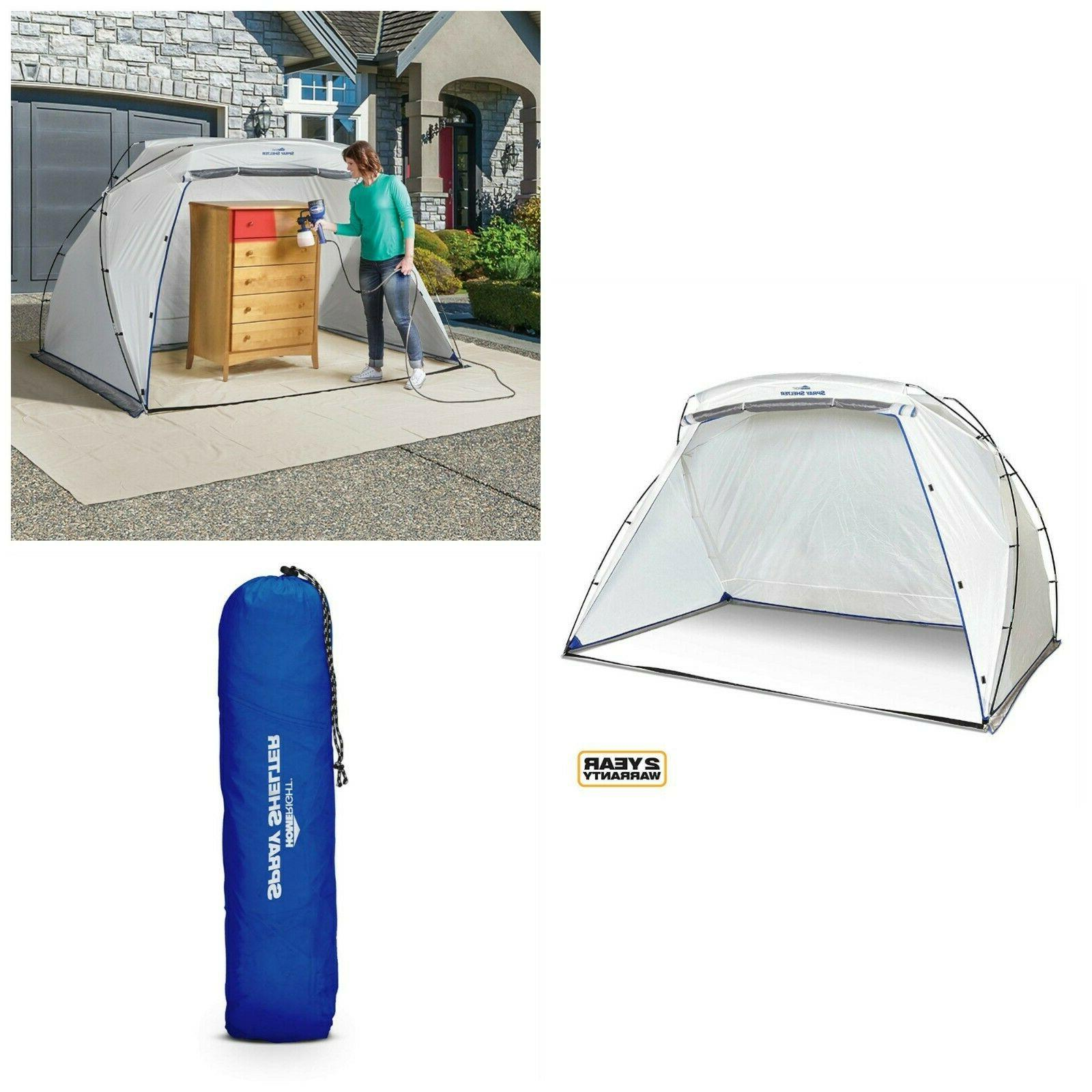homeright spray shelter with bag collapsible tent