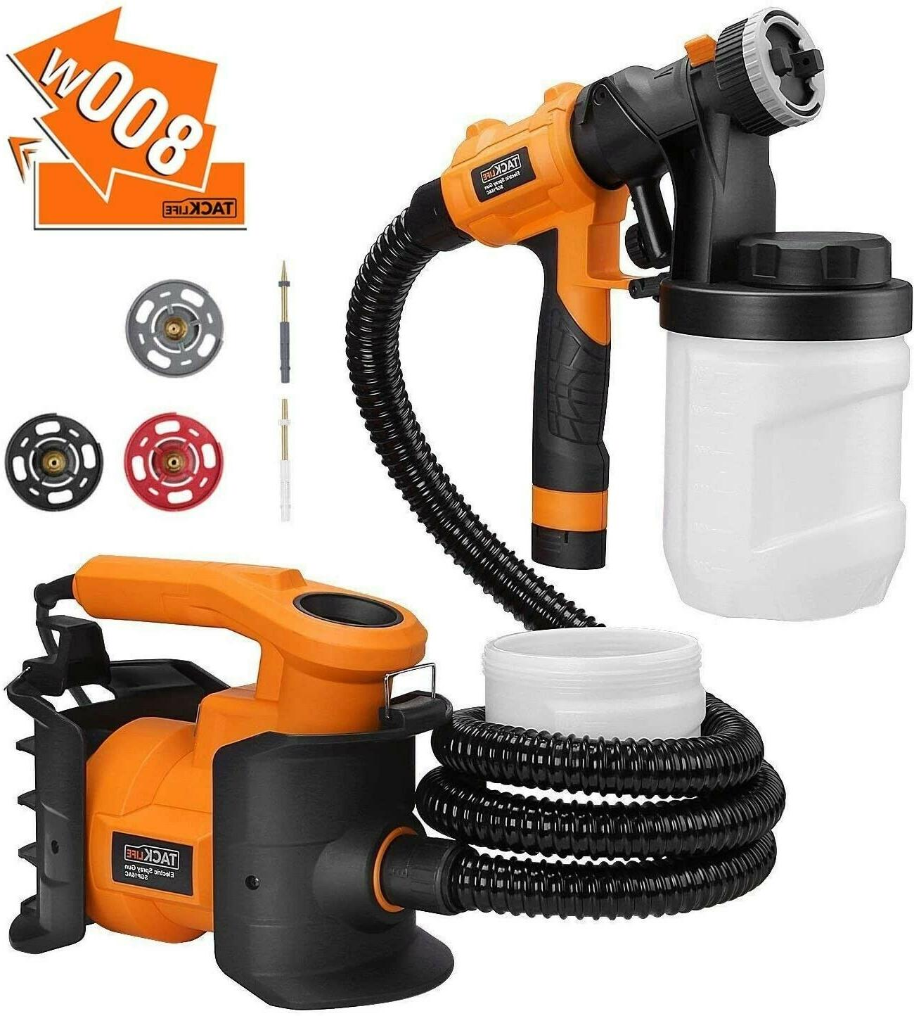 hvlp paint sprayer 1100ml min 800w 2x