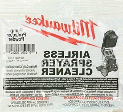 m4910 10 paint sprayer airless cleaning powder