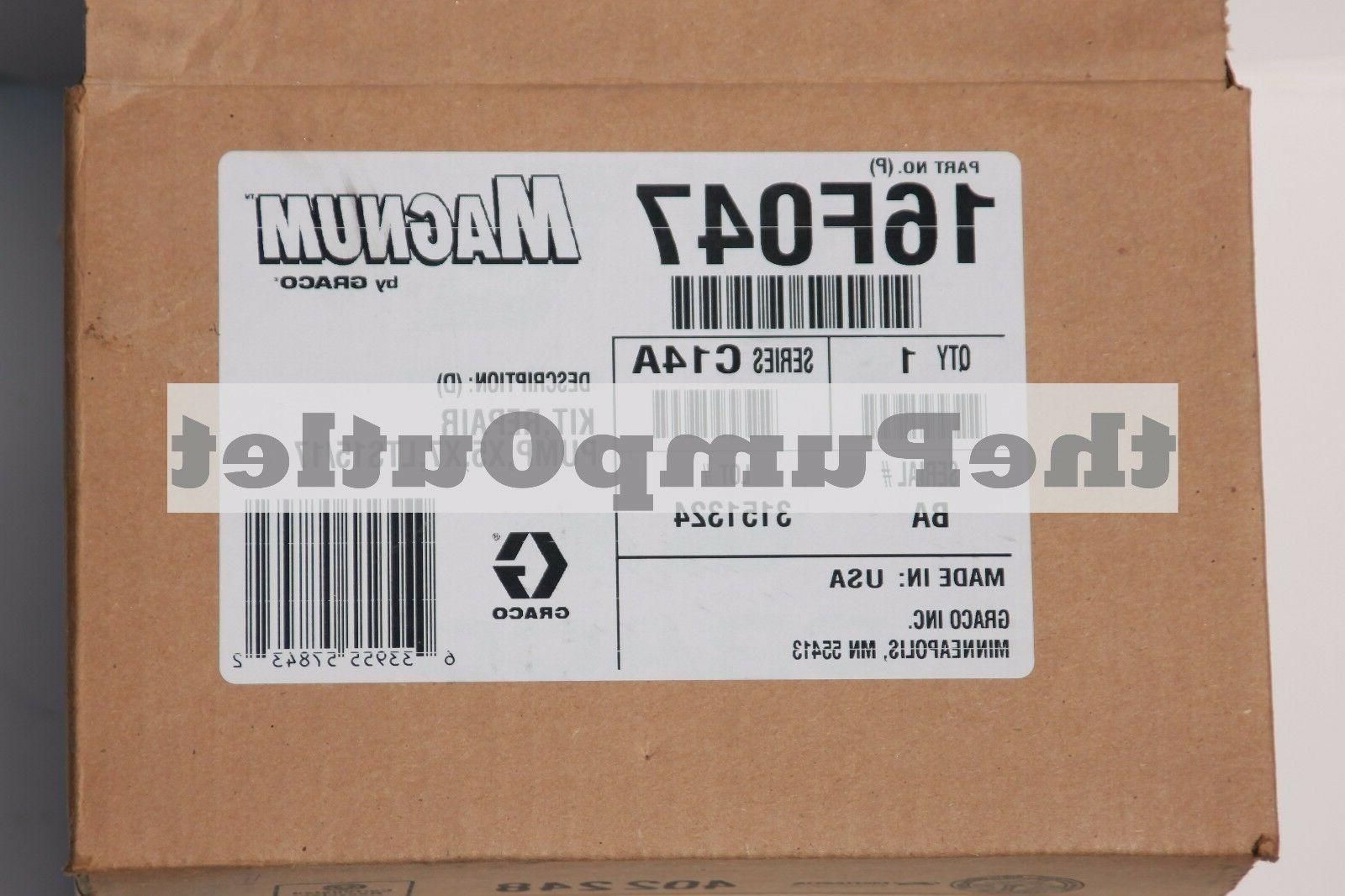 GRACO MAGNUM LTS15 PUMP REPAIR KIT 16F-047 OEM