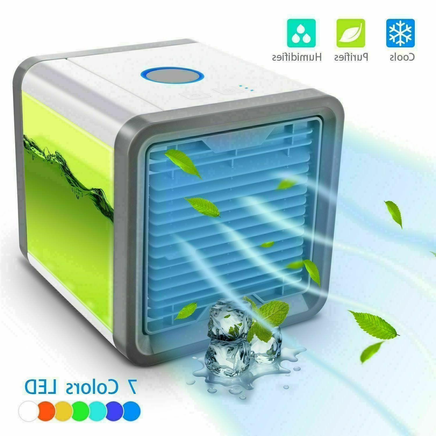 Mini Air Conditioner Cooler Portable Summer Space Artic Fan Humidifier