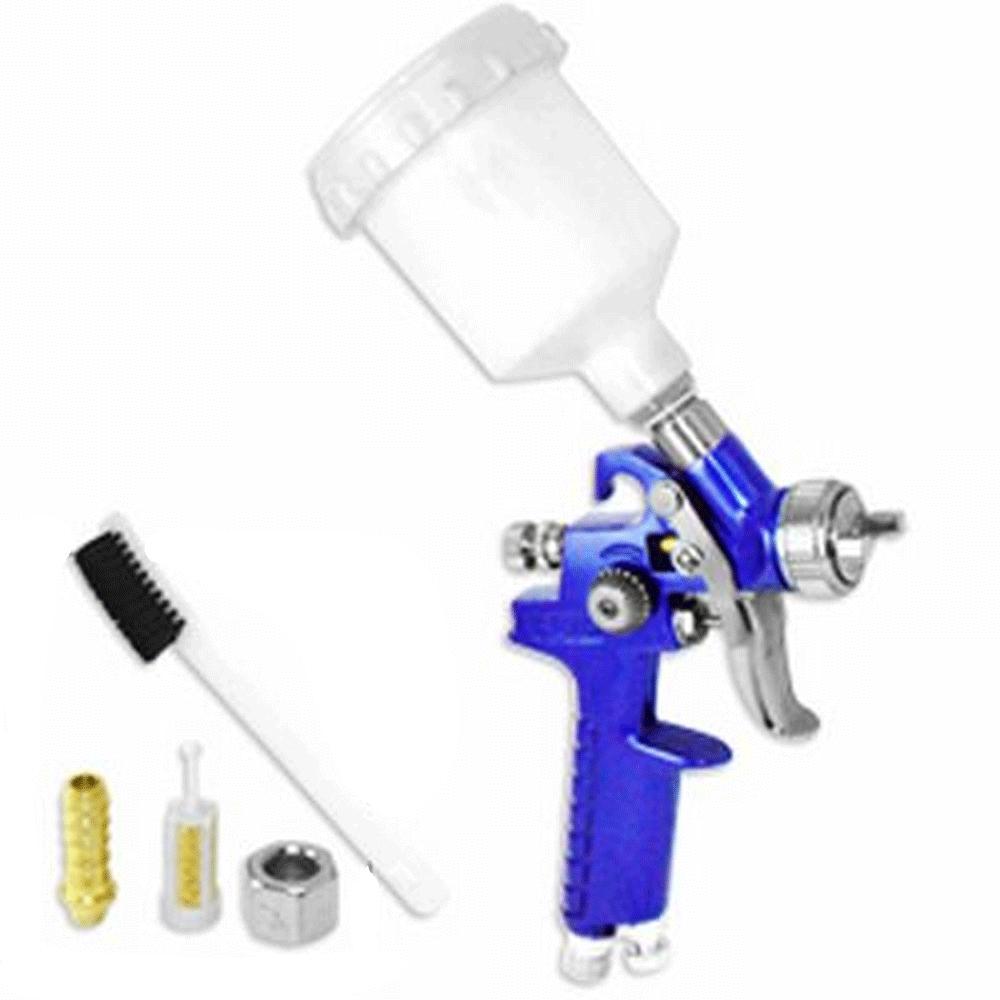 mini hvlp air paint spray gun auto