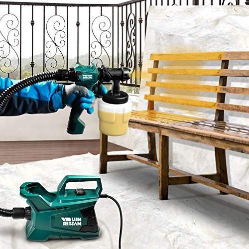 Paint NEU MASTER N3140 Paint HVLP Spray Gun 2 Home Crafts