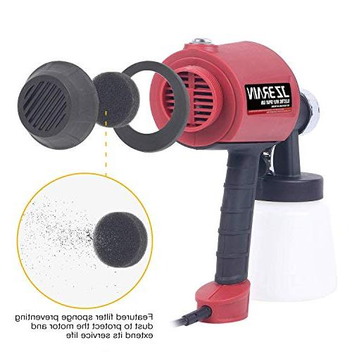 JZBRAIN Electric Spray Three Power, Easy Spraying and Cleaning
