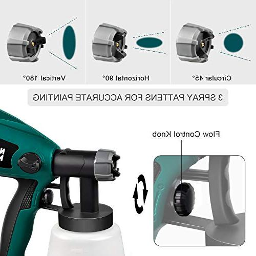 Paint N3020 HVLP Gun, Easy to 3 Patterns