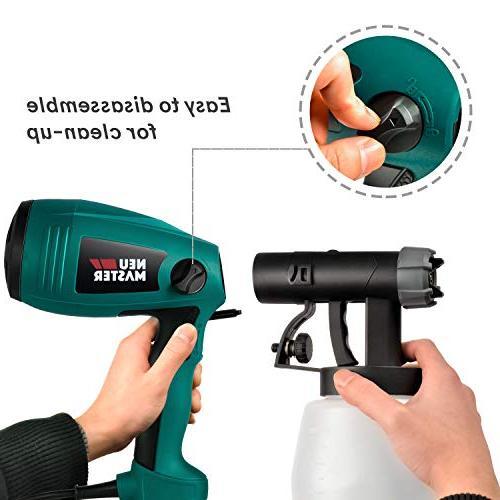 Paint MASTER N3020 Electric HVLP Spray Gun, Easy 3