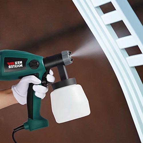 Paint Sprayer N3020 Gun, Flow Easy to Clean