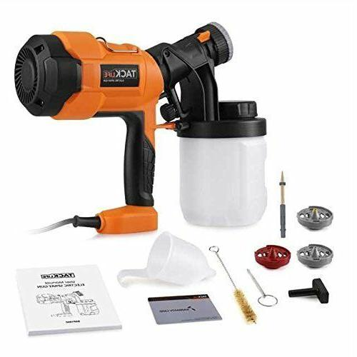 Paint Sprayer 800ml Electric Spray Patterns 4 Nozzles