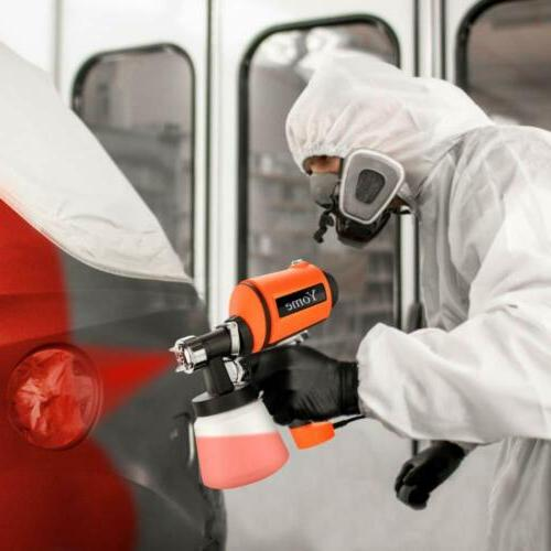 Paint Sprayer 830ml/min, Yome Electric Gun with Spray