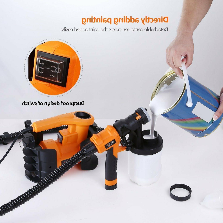 Paint Sprayer, 1100ml/min,800W Paint 2