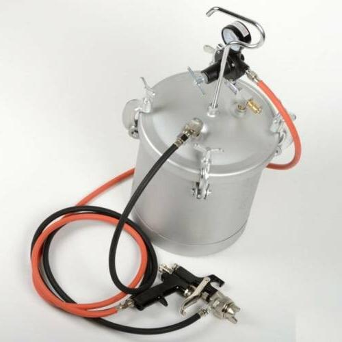 Astro Pneumatic ASTPT2-4GH 2-1/4 Gallon Pressure Tank with S