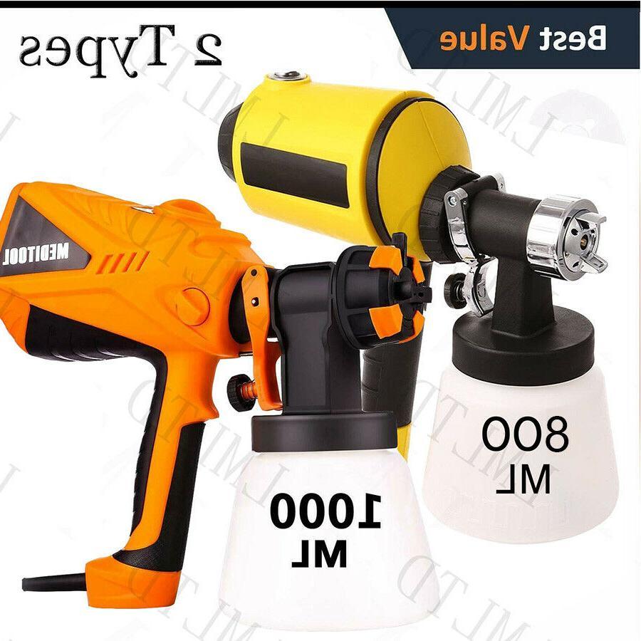 electric spray gun paint sprayer painter 1000ml