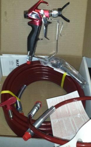 rx pro airless paint sprayer gun hose