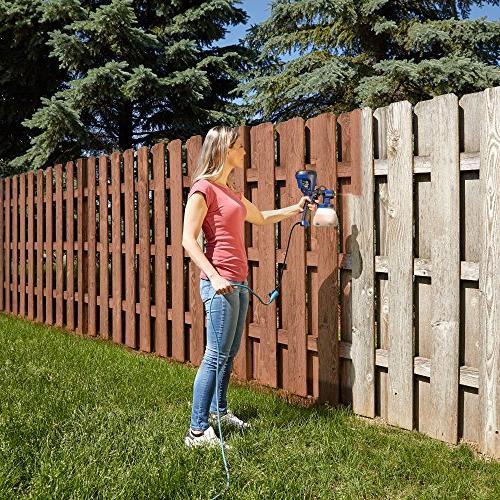 HomeRight C800971.A Super Finish Max Sprayer, HVLP Spray for Blue