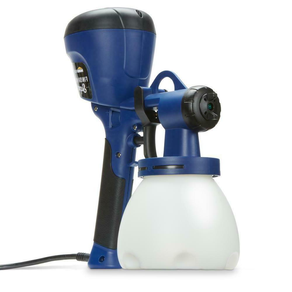 Homeright C800971 A Super Finish Max Power Painter Home Sprayer Hvlp Spray Gun For Painting Projects Blue