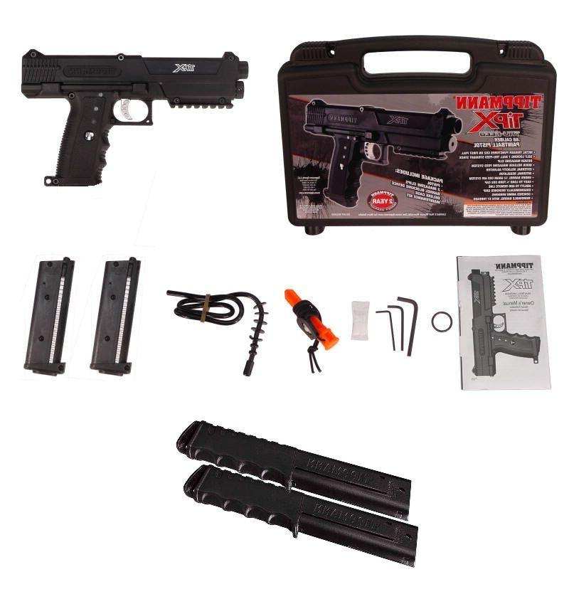 tipx 68 caliber paintball pistol