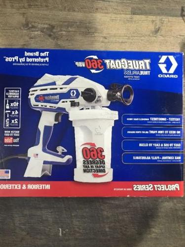 truecoat 360vsp electric handheld airless paint sprayer