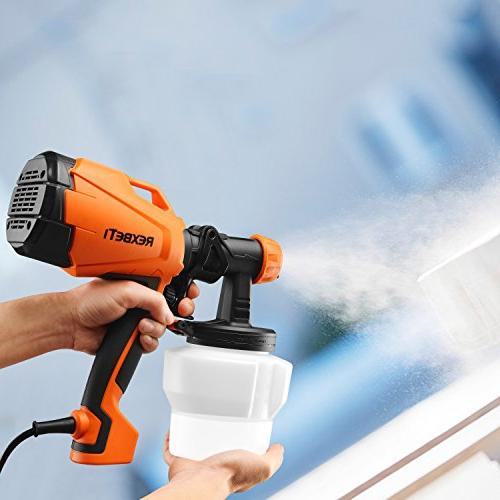 REXBETI Ultimate-750 Paint 500 HVLP Cleaning, Perfect