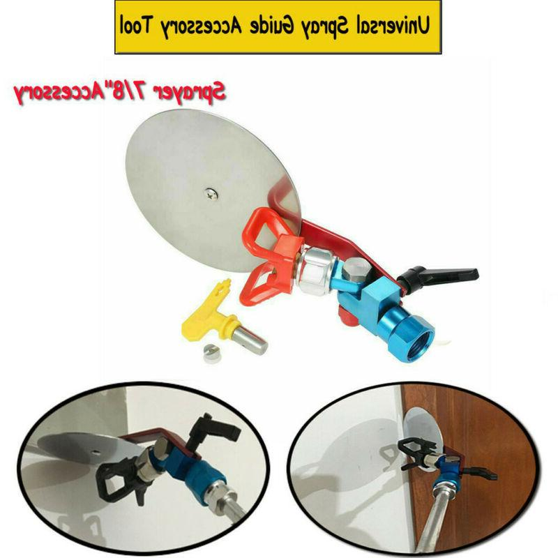 universal spray guide accessory tool paint sprayer