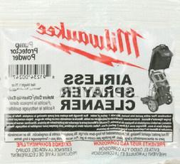 Milwaukee M4910-10 Paint Sprayer Airless Cleaning Powder # 0