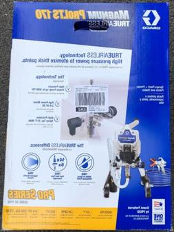 GRACO MAGNUM ProLTS 170 TRUE AIRLESS ELECTRIC PAINT SPRAYER